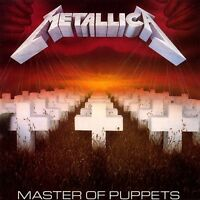 METALLICA Master Of Puppets CD BRAND NEW