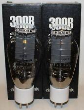 Match'd Pair Electro Harmonix 300B tubes, Brand NEW in Box