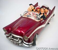 LES FABULEUX FIFTIES forchino caricature humour voiture