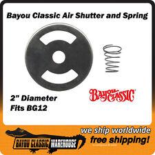 "Air Shutter & Spring 2"" Bayou Classic 5212 For LP Propane Gas Burner BG12"