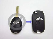Remote Folding Key Flip Shell Case Uncut Blank For BMW Mini Cooper R50 R53