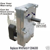 WHITFIELD & LENNOX AUGER FEED MOTOR  [XP7000]  - 1 RPM CW  - H5886  -  12046300