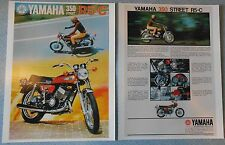 1972 YAMAHA 350 STREET R5-C R5C SALES AD/ BROCHURE