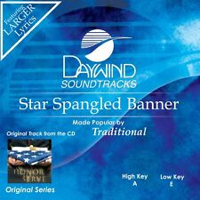 Star Spangled Banner - Traditional -  Accompaniment/Performance Track – New