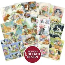 """12 Sheets Hunkydory Picture Perfect Pad - Little Paws 8"""" x 8"""" Paper Pad NEW"""