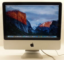 "Apple iMac A1224 2.66 GHz Core 2 Duo MB324LL/A 20"" 2GB 320GB 2008"