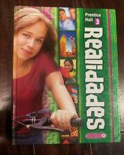 Realidades 3 Hardcover Boyles 2011 Spanish Textbook