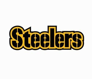 Pittsburgh Steelers NFL Football Color Sports Decal Sticker-Free Shipping
