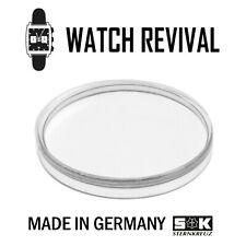 GERMAN PLEXI WATCH GLASS CRYSTAL FOR ROLEX TROPIC MULTI LISTING - ALL TYPES