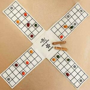 Ancient Living Pachisi / Ludo / Indian Ludo / chausar / Indian Dice Board Game