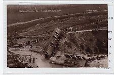 More details for railway disaster, carr bridge, 1914: inverness-shire postcard (c28316)