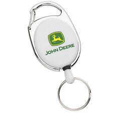 John Deere Retractable Keychain