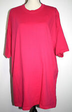 Fruif of The Loom Womens 2XL Pink T Shirt Short Sleeves Crew Neckline