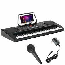 61 Key  Electronic Music Keyboard Electric Digital Piano Organ w/Microphone