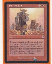 MTG  Urza's Destiny  4 x SOWING SALT  Uncommon  Sorcery  Never Played   Play Set