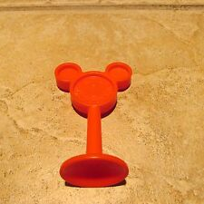 Mickey Mouse Magic Choo-Choo Red Sign Pole Replacement Piece EUC