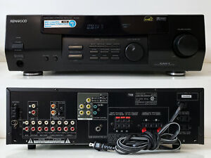 Excellent Am/Fm 5.1 Home Theater Stereo Receiver 80W Kenwood VR-405