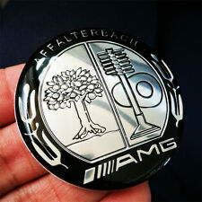 1 Pcs AMG Steering Wheel Decal Badge Emblem 5.2cm Sticker For New Mercedes Benz