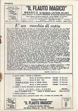 IL FLAUTO MAGICO - MENSILE DI MUSICA n° 1/1977 - 5 BRANI # SPARTITO
