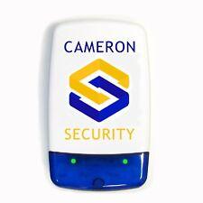 Dummy / Decoy Alarm Bell Box, Dual flashing LED's & screen printed security logo
