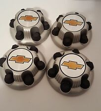 Set Of 4 Chevy Hub Caps Covers 6 Lug Wheel