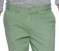 J. McLAUGHLIN Sage Green COTTON TWILL Slim Fit EMERSON CHINO PANTS $135 NWT 32