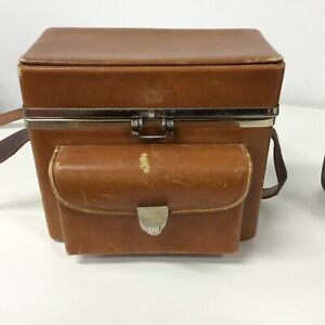 Vintage Bell & Howell Director Series Zoomatic 8mm Movie Camera With Case #565