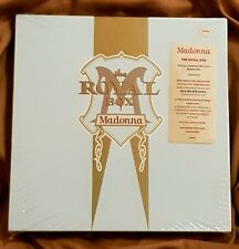 MADONNA THE ROYAL BOX SEALED 1990 SATIN CD/VHS/POSTER/POSTCARDS w/ HYPE STICKER