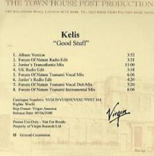 Kelis: Good Stuff PROMO w/ Artwork MUSIC AUDIO CD Forces Junior's Transatlantic