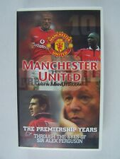 Manchester United - The Premiership Years VHS