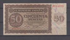 50 PTAS 21 DE NOVIEMBRE DE 1936 SERIE F