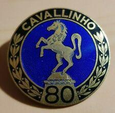 """CAVALLINHO Brosche 80 emailliert 30er Jahre """"Preissler"""" ALT+ORIGINAL - Maße 33mm"""