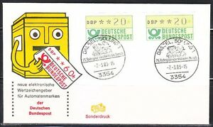 Germany 1983 event ATM cover Wilhelm Busch , Max & Moritz.Comics.Dassel.Solling1