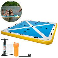 Inflatable Floating Mesa Dock Swim Deck Platform water pad- 2.5mx2m