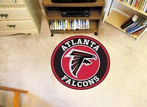 Atlanta Falcons Round Rug Area Rug Living Room Bedroom Flannel Floor Mat Carpet