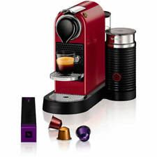 Nespresso by Krups XN760540 Citiz and Milk Coffee Machine 1710 Watt Red