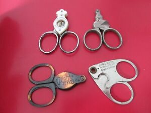 4  Antique   ADVERTISING  -   CIGAR  CUTTERS  #4