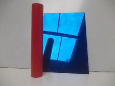 3mm ACRYLIC MIRROR SHEET  PERSPEX PLEXIGLASS SAFETY BLUE(2424) 100mm x 100mm