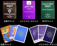 Dr.Shigeki Gomi Tarot 22Cards  Deck 3 Lots Fantastic Medical Buddhistic Entropy