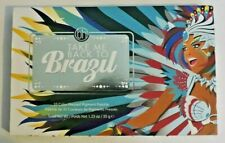 BH Cosmetics Pressed Pigment Eyeshadow Palette, Take Me Back To Brazil, NEW