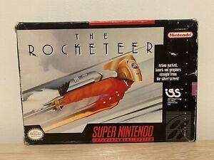 The Rocketeer SNES in box - no insert Or Manual  NTSC US
