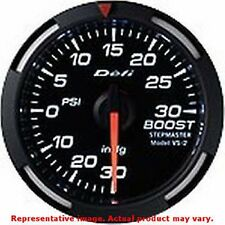 Defi DF06503 DF White Racer Gauge 52mm Turbo Pressure