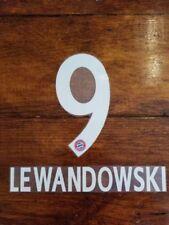 2017/18/19 Bundesliga FC Bayern Munich LEWANDOWSKI 9 Home Away Name set