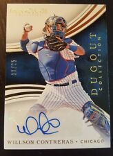 2016 Immaculate Collection Willson Contreras RC Auto CUBS #'d 11/25