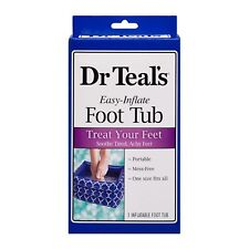 """Dr Teal's Easy Inflate Foot Tub 7.8"""""""