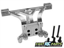 Aluminum Front Body Mount silver - E-Revo Revo Slayer Summit RVO29M08