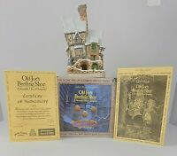 DAVID WINTER COTTAGES OLD JOE'S BEETLING SHOP 1993 w/ Box & COA
