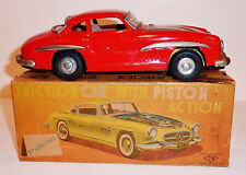 1950s NOMURA / TN Japanese Tin Litho Friction MERCEDES BENZ 300SL GULLWING / BOX