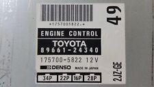 ECU, 2JZ-GE A/T,49, 89661-24340 94-97 Toyota Soarer JZZ31. Engine Computer. ECM