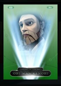 Topps Star Wars Card Trader:Character the month exclusive green-OBI WAN KENOBI
